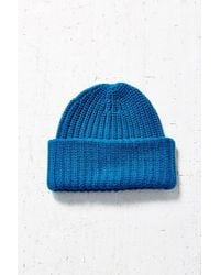 Urban Outfitters - Blue Stand Up Beanie - Lyst