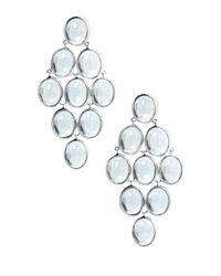 Ippolita | Blue Topaz Cabochon Cascade Earrings | Lyst