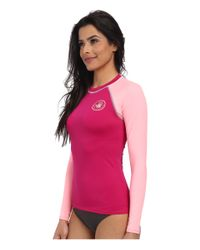 Body Glove - Pink Smoothies Sleek Rashguard - Lyst