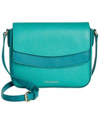 Vera Bradley | Blue Twice As Nice Crossbody | Lyst