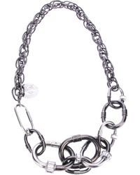 Lanvin | Metallic 'carthage' Necklace | Lyst