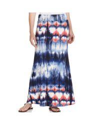 Karen Kane | Multicolor Tiedye Maxi Skirt | Lyst