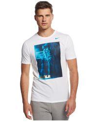 Nike - White Lebron Player Dri-fit T-shirt for Men - Lyst