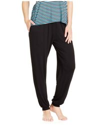 DKNY | Black Pajama Pants | Lyst