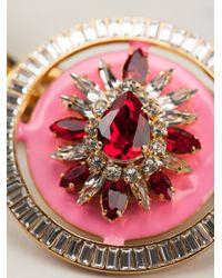 Shourouk   Pink 'maximus' Necklace   Lyst