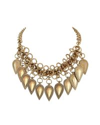 Ziba | Metallic Signature Paulette Necklace | Lyst