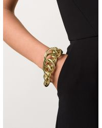 Vaubel | Metallic Large Link Ring Bracelet | Lyst