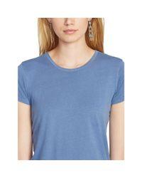 Polo Ralph Lauren - Blue Cotton Jersey Tee - Lyst