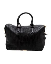 Cornelia Guest - Black Nicholas Faux-Leather Satchel - Lyst