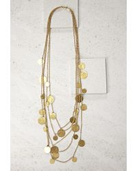 Forever 21 | Metallic Soko Layered Coin Necklace | Lyst