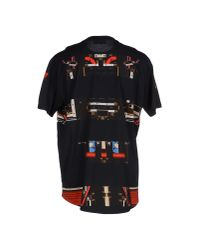 Givenchy | Black T-shirt for Men | Lyst