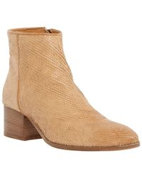 Dune - Brown Black Piah Reptile Ankle Boots - Lyst