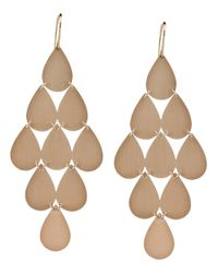 Irene Neuwirth - Pink 18kt Rose Gold Chandelier Earrings - Lyst