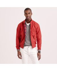 Baracuta | Red G9 Harrington Jacket for Men | Lyst
