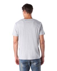 DIESEL - Gray T-newyn for Men - Lyst