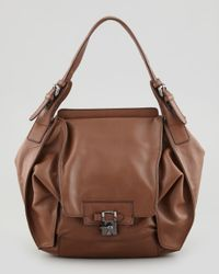 Kooba | Brown Valerie Flapfront Shoulder Bag Luggage | Lyst