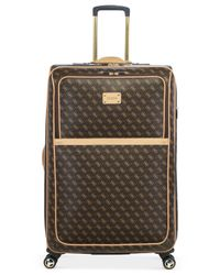 "Guess | Brown Logo Affair Dlx 29"" Spinner Suitcase for Men 