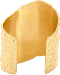 Givenchy - Metallic Crocodile Cuff - Lyst