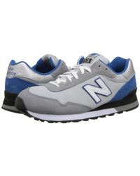 New Balance   Gray 515 - Suede/mesh for Men   Lyst