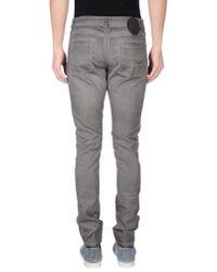 Tom Rebl - Gray Casual Trouser for Men - Lyst
