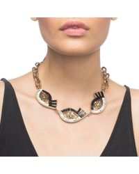 Lulu Frost - Metallic Lumen Necklace - Lyst