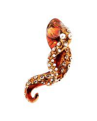 Mary Katrantzou   Octafish Earrings Red   Lyst