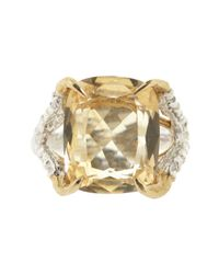 Tessa Metcalfe | Metallic Antique Citrine Claws Of Engagement | Lyst