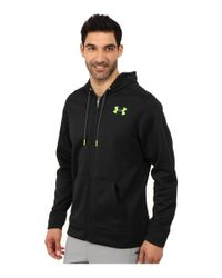 Under Armour | Black Ua Storm Armour® Fleece Zip Hoodie for Men | Lyst