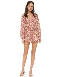 Tori Praver Swimwear | Pink Cozumel Romper | Lyst