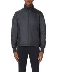 Paul Smith | Blue Quilted Nylon Track Jacket for Men | Lyst