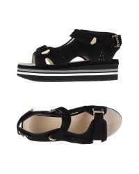 Preen By Thornton Bregazzi - Black Sandals - Lyst