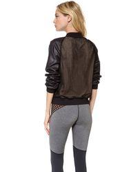 Michi - Black Strata Jacket - Lyst