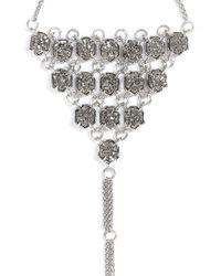 Kendra Scott | Metallic 'abigail' Hand Chain | Lyst