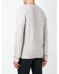 IRO | Natural Crew- Neck Sweater for Men | Lyst