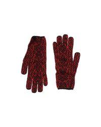 Alaïa - Red Gloves - Lyst