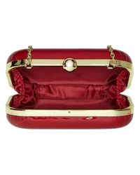 Jessica Mcclintock | Red Roxie Clutch | Lyst