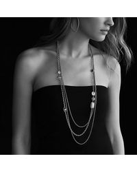 David Yurman - Metallic Chatelaine Necklace - Lyst