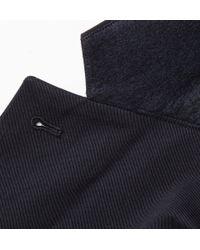 A.P.C. - Blue Navy Cotton-Gabardine Blazer for Men - Lyst