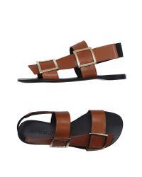 Gianmarco Lorenzi - Brown Sandals - Lyst
