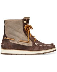 Sperry Top-Sider | Brown Women's Peak Blvd Booties | Lyst