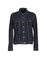 Dondup - Blue Denim Outerwear for Men - Lyst