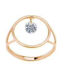 La Brune Et La Blonde - Pink Excentric Ring - Lyst