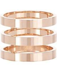 Repossi | Pink Berbere Triple-band Cage Ring | Lyst