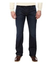 "7 For All Mankind - Blue ""a"" Pocket Brett In North Pacific for Men - Lyst"