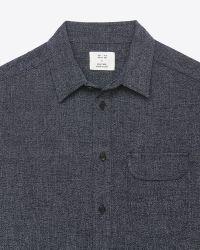 Billy Reid | Blue Miller Shirt for Men | Lyst