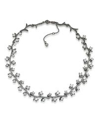Carolee | Metallic Phantom Cubic Zirconia Vine Necklace | Lyst