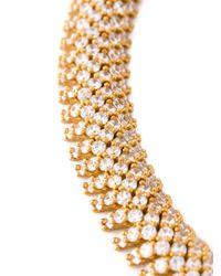 Saint Laurent | Metallic Popcorn Chain Necklace | Lyst