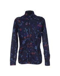 Daniele Alessandrini - Blue Shirt for Men - Lyst