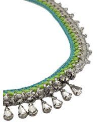Venessa Arizaga - Blue 'bahama Mama' Necklace - Lyst