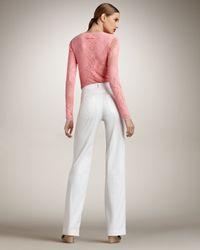 Jean Paul Gaultier - White Wide-leg Pants - Lyst